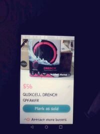 Drench Bluetooth extremely load speaker