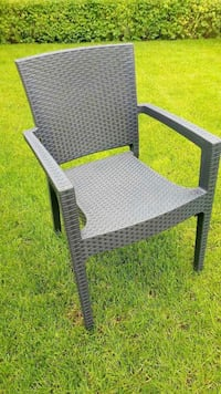 gray wicker armchair Montreal, H2A 2P1