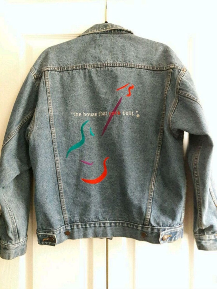 Photo Authentic Rockn'Roll Hall of Fame Jacket~cool not too flashy