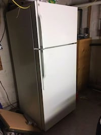 white top-mount refrigerator Kingston