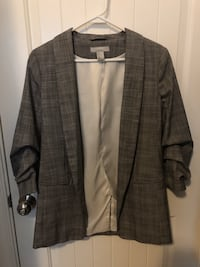 H&M GREY FITTED BLAZER Vancouver, V5P 1B4
