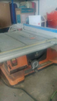 Ridgid table saw Richmond, V6X 2R6