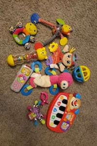 Assorted 0-12 month toys  Calgary, T3K