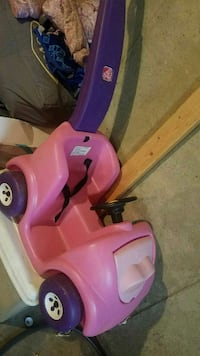 toddler's pink and purple plastic push trike Stafford, 22556
