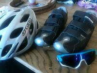 Road bike helmet,shoes,glasses Las Vegas, 89122