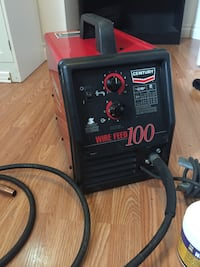 Lincoln electric / century MIG welder and accessories