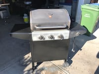 stainless steel and black gas grill Calgary, T2A 0Y5