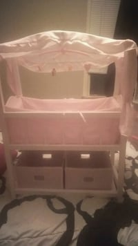 Baby doll crib all wood working mobile Fort Smith, 72901
