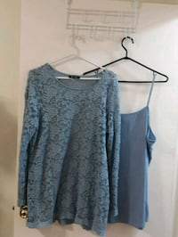 Lace top with under camisole 536 km