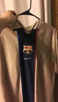 White and blue nike jersey shirt Conway, 29526