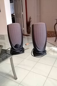 two black-and-grey Dell portable speakers Boynton Beach, 33437