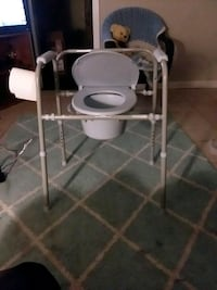Bed side toilet