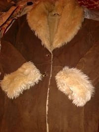 Wilson Leather Faux Fur Coat sz XL Oxon Hill, 20745