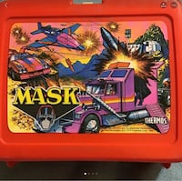 Vintage 1985 MASK LUNCHBOX  24 km