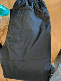 Black Snowpants- Size Youth Large Ajax, L1S
