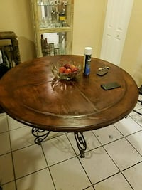 Real wood dining table  Oakland Park, 33309