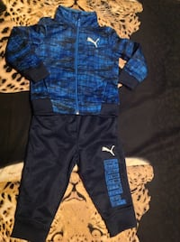 New boys puma set 12 months.