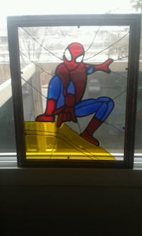 Stained glass art 1rst spider man 6$ Gatineau, J8Z 1T7