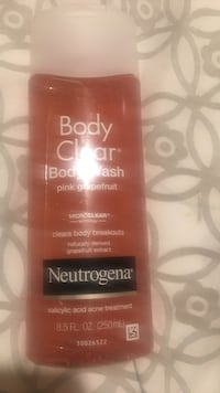 Neutrogena Body Clear body wash bottles Los Angeles, 90007
