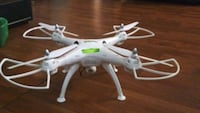 white and red quadcopter drone Chattanooga, 37412