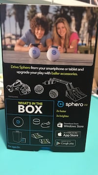 Sphero 2.0 complete set with box and charger
