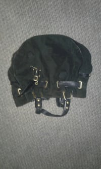 black and gray leather backpack Edmonton, T6J 4S7