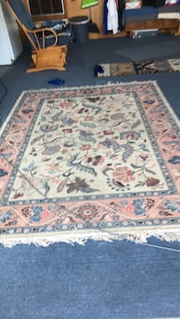 white, red, and blue floral area rug Fremont, 94536