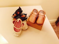 Toddler girl's three pairs of shoes Folsom, 95630