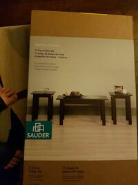 sauder beginnings collection 3-piece table set box Ontario, N7L 1L3