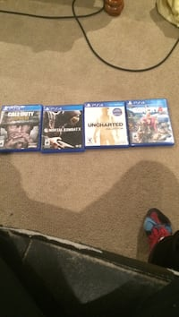 Five sony ps4 games