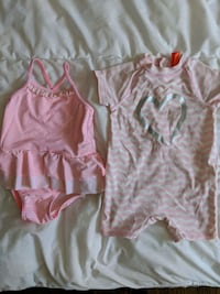 Toddler Girl Pink Swimsuit Swimwear  Ottawa, K2B 5Y7