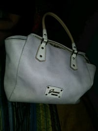 white leather guess purse  Springfield, 65802