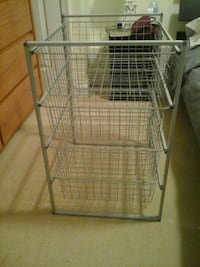 gray metal 3-layer rack Silver Spring, 20902