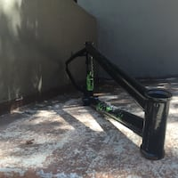 BMX Race Frame(S&M .38 special) null