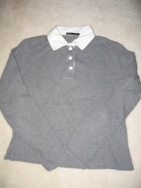 WOMEN'S GREY POLO SHIRT Toronto