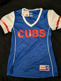 Official Cubs Tee with rhinestones and foil Phoenix, 85050