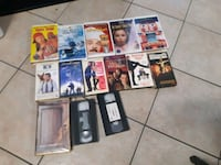 38 VHS Movies Mississauga, L4T 2C8