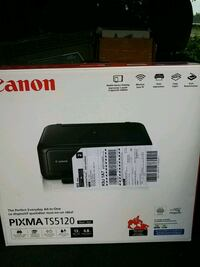 New in box cannon pixmaTS5120 with ink  Peterborough, K9J 1A7