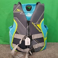 Stearns Women's Medium Life Jacket - Blue & Green 73107