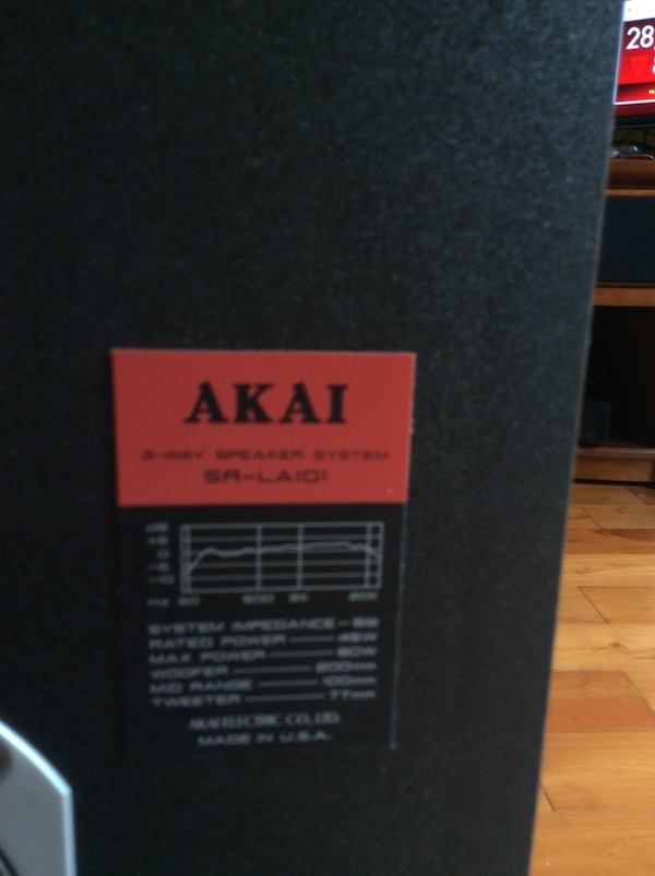 Akia Floor speakers 977565d4-c379-4b0a-9d84-fe1445ec9a51