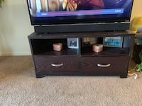 black and brown wooden TV stand San Diego, 92154