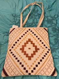 Brand new ethnic tote bag. Beautifully sewn Silver Spring, 20904