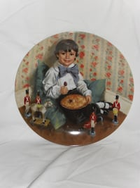 Little Jack Horner Collector Plate Mother Goose  Mississauga