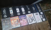 Vhs and DVDs
