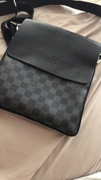 Black and gray checkered Louis Vuitton satchel Vaughan, L4H 2Z3