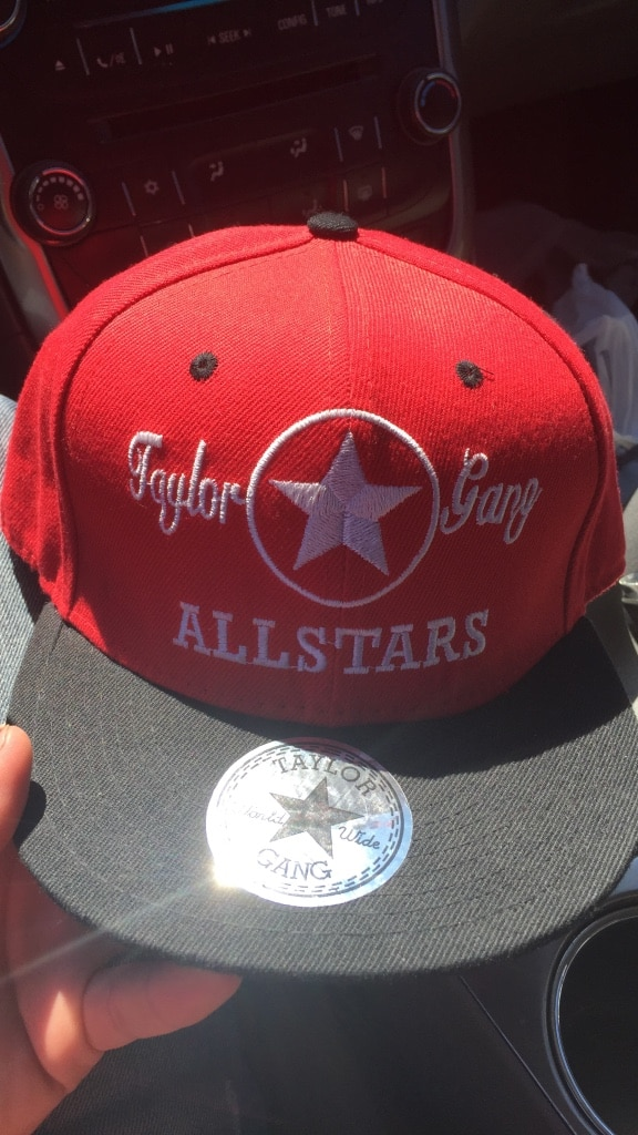 ffb86d0477f ... die wiz khalifa c48e8 93a97  best price taylor gang snap back hat good  condition c775b b0d36