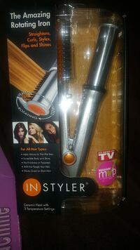 Instyler, hair curls and straightens