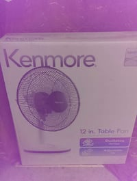 "Kenmore 12"" fan, brand new in its sealled box San Jose, 95123"