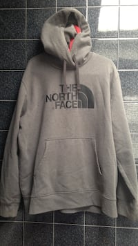 X-large Gray NorthFace Pull-over Hoodie East Providence, 02915