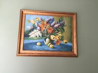 Large frame artwork decor